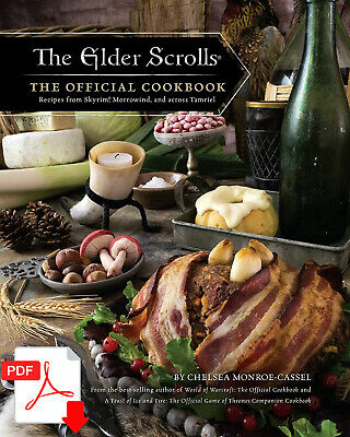 The Elder Scrolls The Official Cookbook ( P.D.F ) Fast Delivery