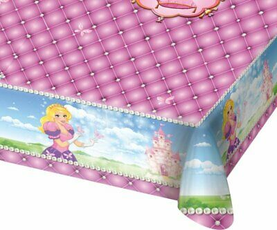 Fairytale Princess Plastic Tablecover 137cm x 182cm