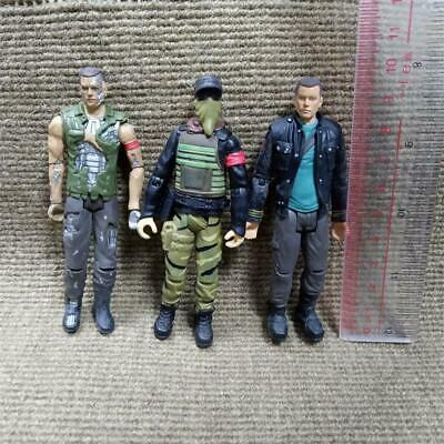 3Pcs Terminator Salvation Marcus John Connor Playmates Action Figure Toys