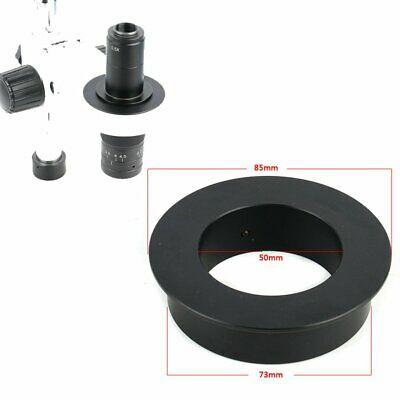 Video Zoom Body Microscope Adapter Ring for Focusing Rack 50mm to 76mm E0