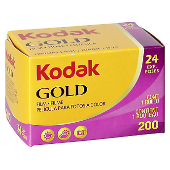 Kodak Gold 200 - Color print film 135 (35 mm) ISO 24 exposures