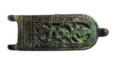 Byzantine, Buckle with Leaves, 6-9th Cent. AD, AE 17 x 47, Intact