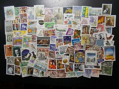 Quality Packet of 100 Different Used Ireland (Eire) Stamps~Collection~UK