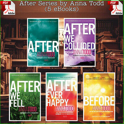 After Series by Anna Todd, Top 5 Books Collection ✔️ FAST DELIVERY✔️ [P.D.F]
