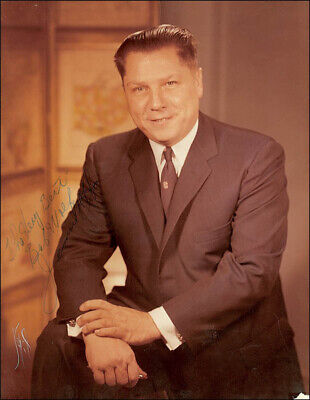"James R. ""Jimmy"" Hoffa - Autographed Inscribed Photograph"