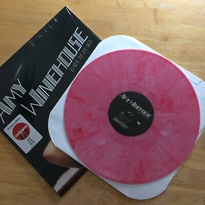 AMY WINEHOUSE Back to Black PINK MARBLED VINYL SEALED NEW LIMITED EDITION HTF