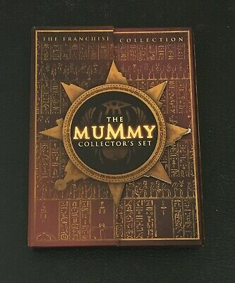 The Mummy Collectors Set DVD 3 Disc Set The Franchise Collection