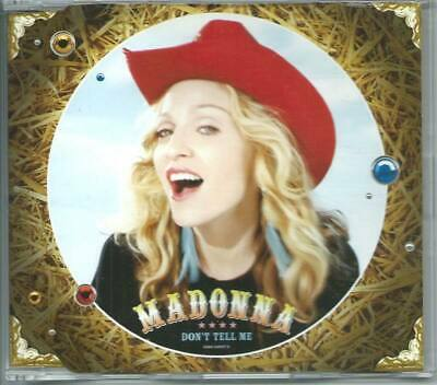 MADONNA Don't Tell Me 3 TRACK REMIX CD SINGLE GERMANY MAVERICK