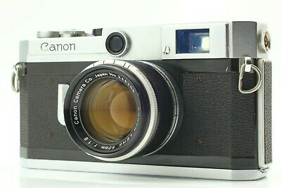 【 AS IS】 Canon VI L 6L 35mm Rangefinder Film Camera + Lens 50mm  from JAPAN 479
