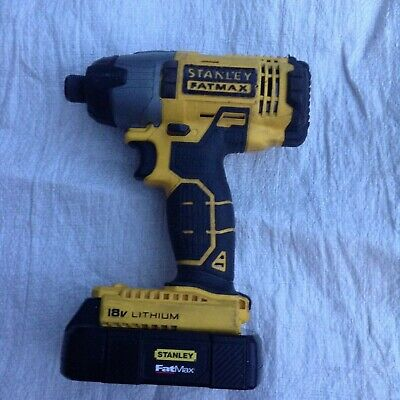 Stanley FatMax FMC641 Cordless 18V Li-ion Brushed Impact Driver Body Only