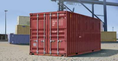 Trumpeter 1029 20 ft Shipping/Storage Container 1/35 Scale Plasti 9580208010298