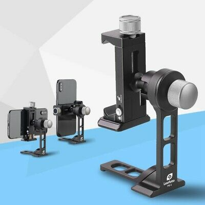 New Leofoto Phone Stand and Clamp PS-1 + PC-90II Kit Smartphone Table Holder