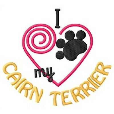 """I """"Heart"""" My Cairn Terrier Zippered Tote 1383-2"""