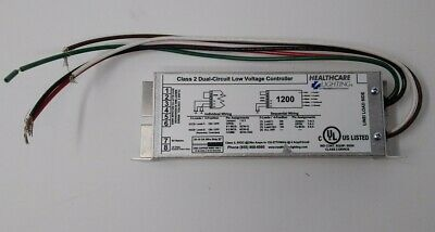 Healthcare Lighting 1200 Class 2 Dual-Circuit Low Voltage Controller