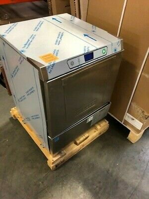 |1045| Hobart LXEH-2 High Temp Rack Undercounter Dishwasher - 32 Racks/hr, 1ph