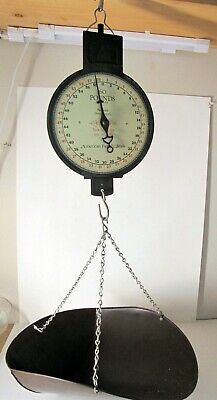 1912 Antique American Family Scale Co. Mercantile Hanging 60 lb.Scale