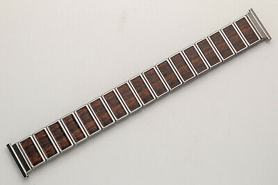 Vintage Original Stainless Steel Rowi Fixo-Flex Watch Band! 22 mm Ends