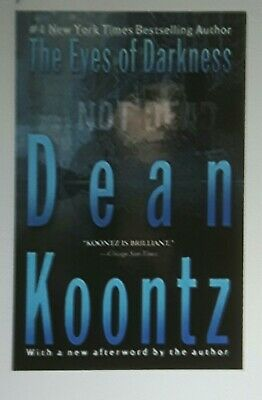 The Eyes of Darkness by Dean Koontz (Paperback book).