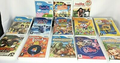 Wii - Kids Games - Peppa Pig/Monkeyball/Build a Bear etc...... **Multi Listing**