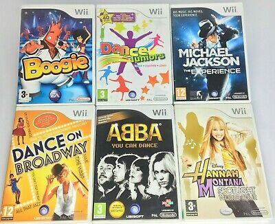 Wii - Dance/Music Games - Abba/Michael Jackson/Juniors etc.... **Multi Listing**