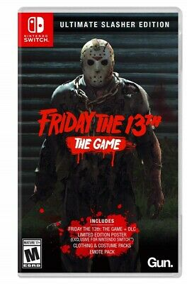 Nintendo Switch - Friday The 13Th Ultimate Slasher Edition Brand New Sealed Game