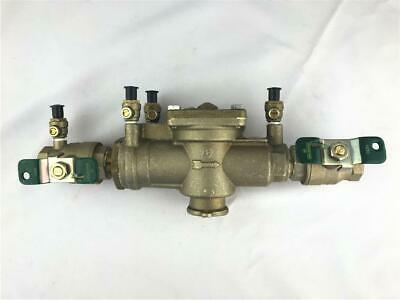 """* WATTS 1"""" Reduced Pressure Zone Assembly Backflow Preventer LF009M2-QT NEW"""