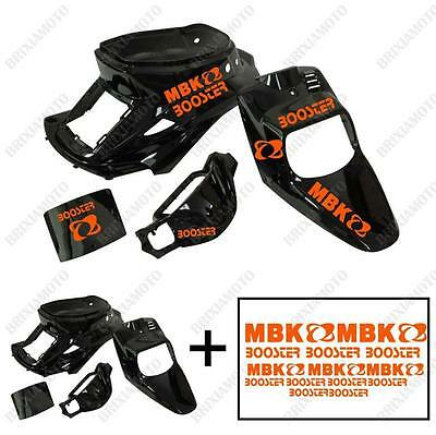 Fairings Shiny Black Stickers Orange Ladies Apply MBK Booster Spirit' 88'/03