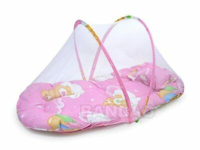 Baby Mosquito bed With net Insect Cradle Netting Infant Canopy Cushion mattress