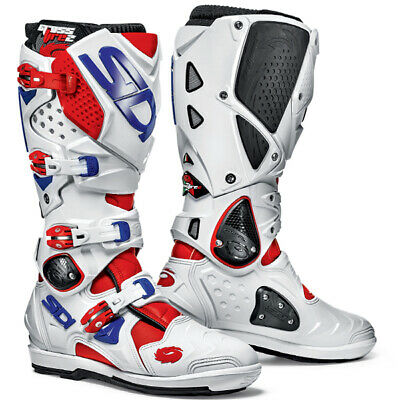 Sidi Crossfire 2 Srs Motocross Boots - Red White Blue