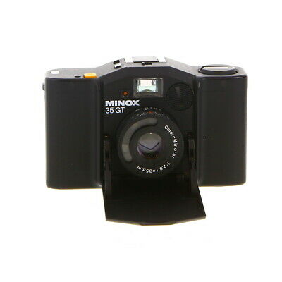 Minox 35 GT 35mm Camera [PX27/Battery Pack 386] manual focus *AS/IS*