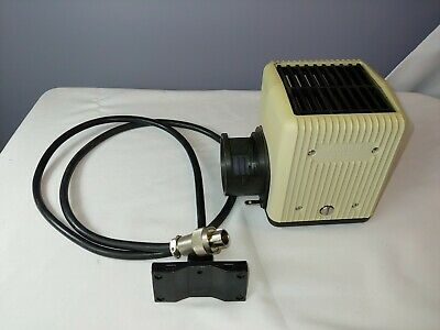 Nikon Diaphot Halogen 12v 100w Microscope Lamp Housing with Cable