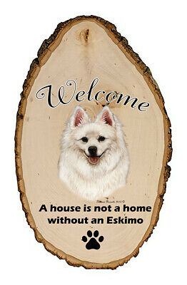 Outdoor Welcome Sign (TB) - American Eskimo 51126