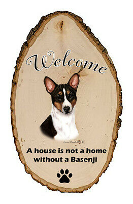 Outdoor Welcome Sign (TB) - Tri Basenji 51360