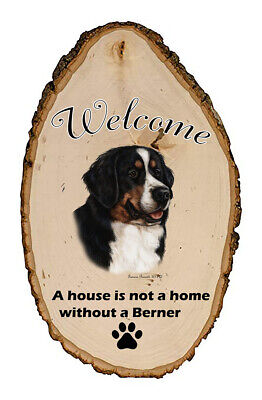 Outdoor Welcome Sign (TB) - Bernese Mountain Dog 51005