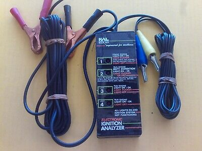 KAL Electronic Ignition Analyzer #2722 Engineered For Excellence