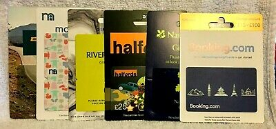 UK England Britain Gift Cards - Collectible Only - Many to Pick From!   Lot #2