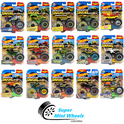 Hot Wheels Monster Trucks 2020 New 1 64 Diecast You Choose Updated 09 01 2 99 Picclick