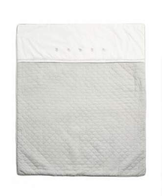 Mamas & Papas - Welcome To The World Quilt - Elephant Grey