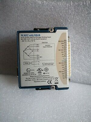 National Instruments NI-9237 with DSUB PN:780264-01
