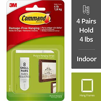 Command Small Picture Hanging Strips Decorate Damage-Free (17205-ES)