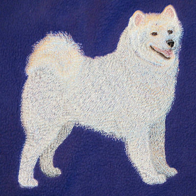 Embroidered Ladies Short-Sleeved T-Shirt - Samoyed C5072
