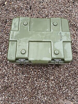 Ex Military Flight Transport Case  Green Landrover Peli Etc