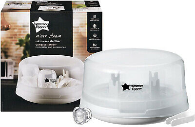 Tommee Tippee Micro-Steam Microwave Steriliser Closer to Nature Microwave
