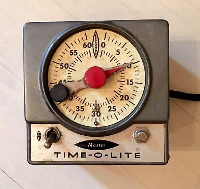Time-O-Lite Darkroom M72 60 Second Dark Room Timer