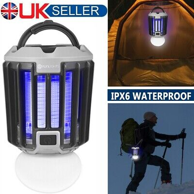 Electric Mosquito Insect Killer Pest Zapper Repell Outdoor Camping Lantern Light