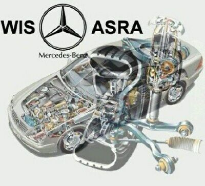 2018 Mercedes WIS ASRA & EPC Service Repair Workshop Manual Download Complete