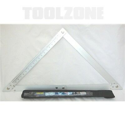 "24"" Aluminium Folding Square With Case - Measuring Tool"