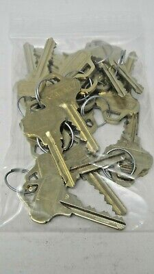 Schlage C123 Factory Cut Keys - 10 Sets (20 keys)