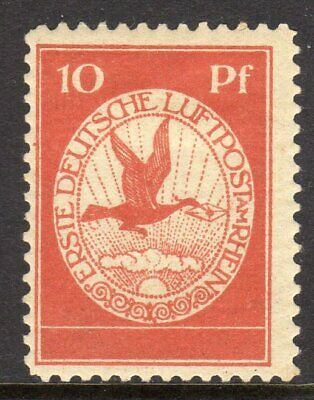 Germany Michel DR# I 1912 First German Air Mail on the Rhine Local Airmail