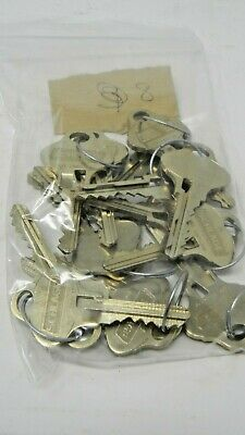Schlage Everest 29 S123 Factory Cut Keys - 8 Sets (16 keys)